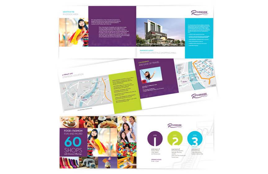 Print Design - Riverside Plaza