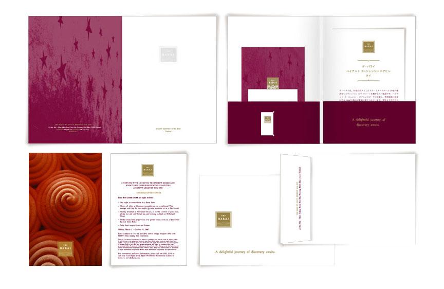 Print Design - The Barai, Hyatt Regency Hua Hin