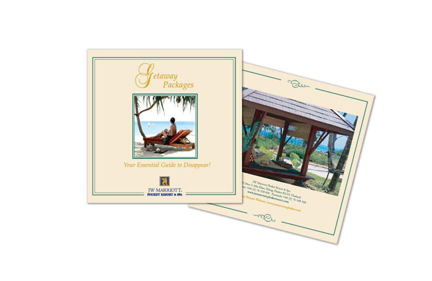 Print Design - JW Marriott Phuket