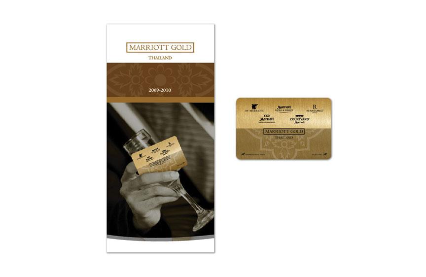 Print Design - Marriott Gold Card