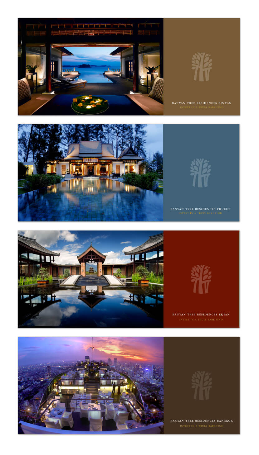 Print Design - Banyan Tree Residences
