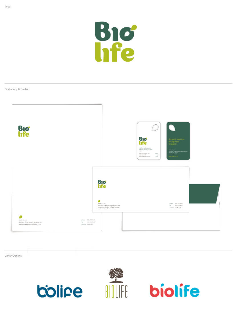 Branding & Identity - Biolife