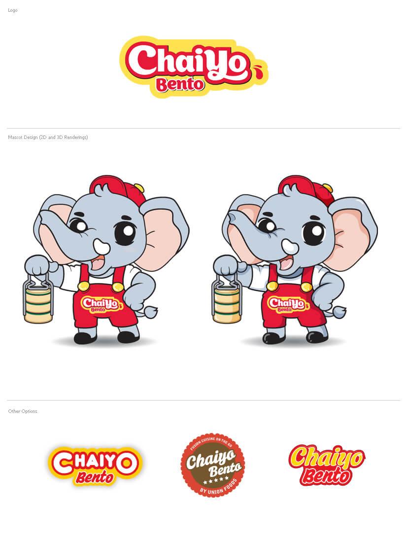 Branding & Identity - Chaiyo Bento