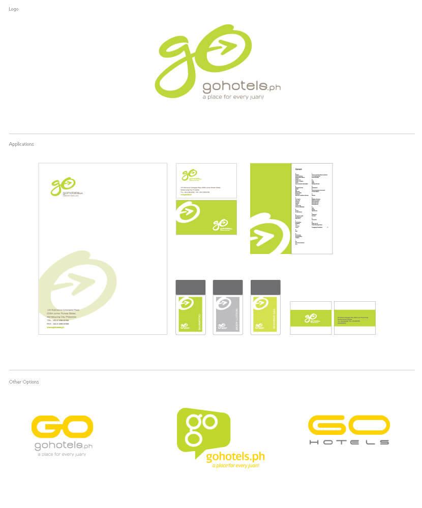 Branding & Identity - Go hotels