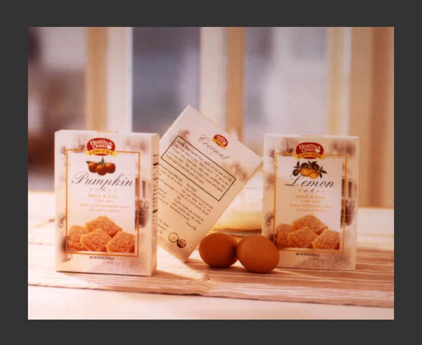 Packaging Design - Healthy Oven