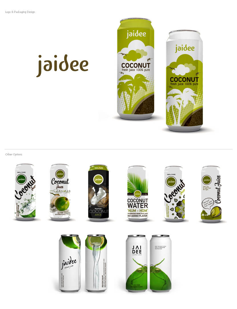 Packaging Design - Jaidee