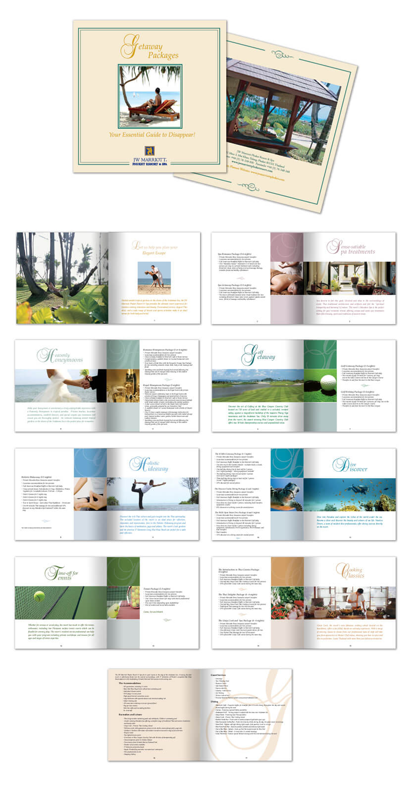 Print Design - JW Marriott Phuket