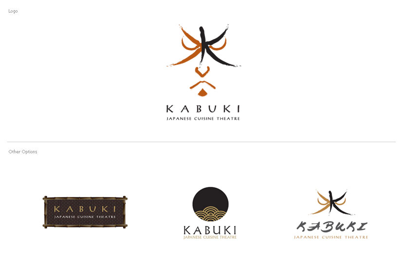 Branding & Identity - JW Marriott Phuket, Kabuki Restaurant