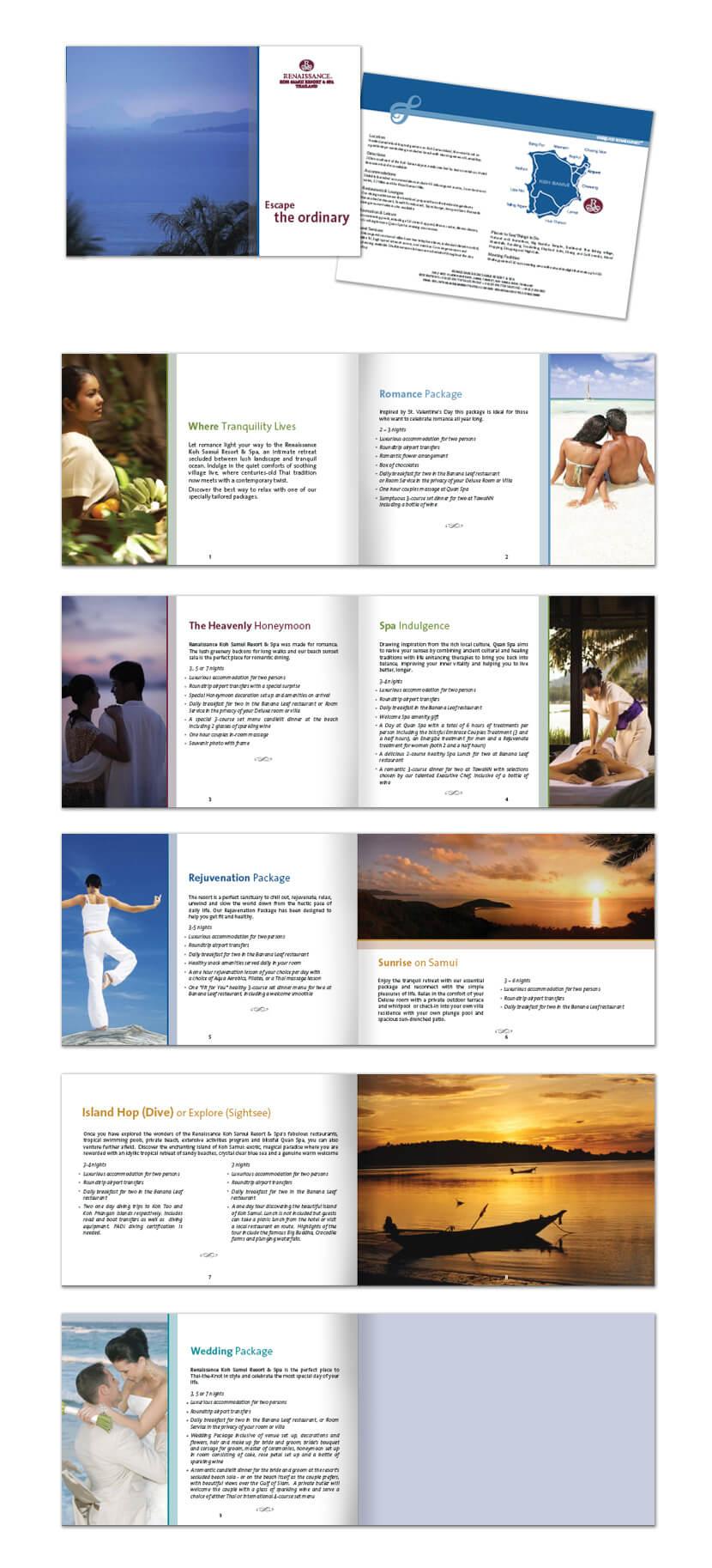 Print Design - Renaissance Koh Samui
