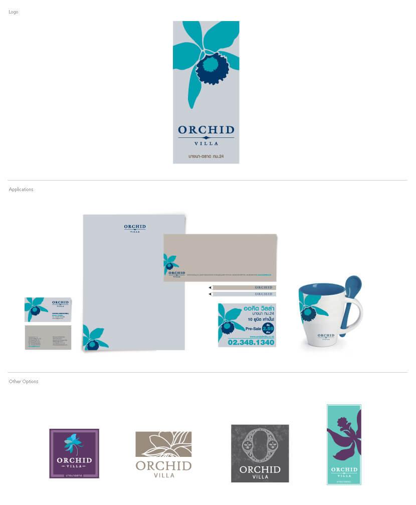 Branding & Identity - Orchid Villa