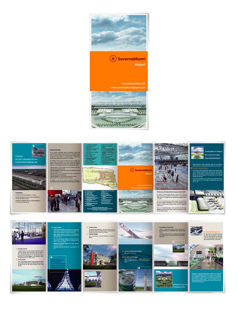 Print Design - Suvarnabhumi Airport