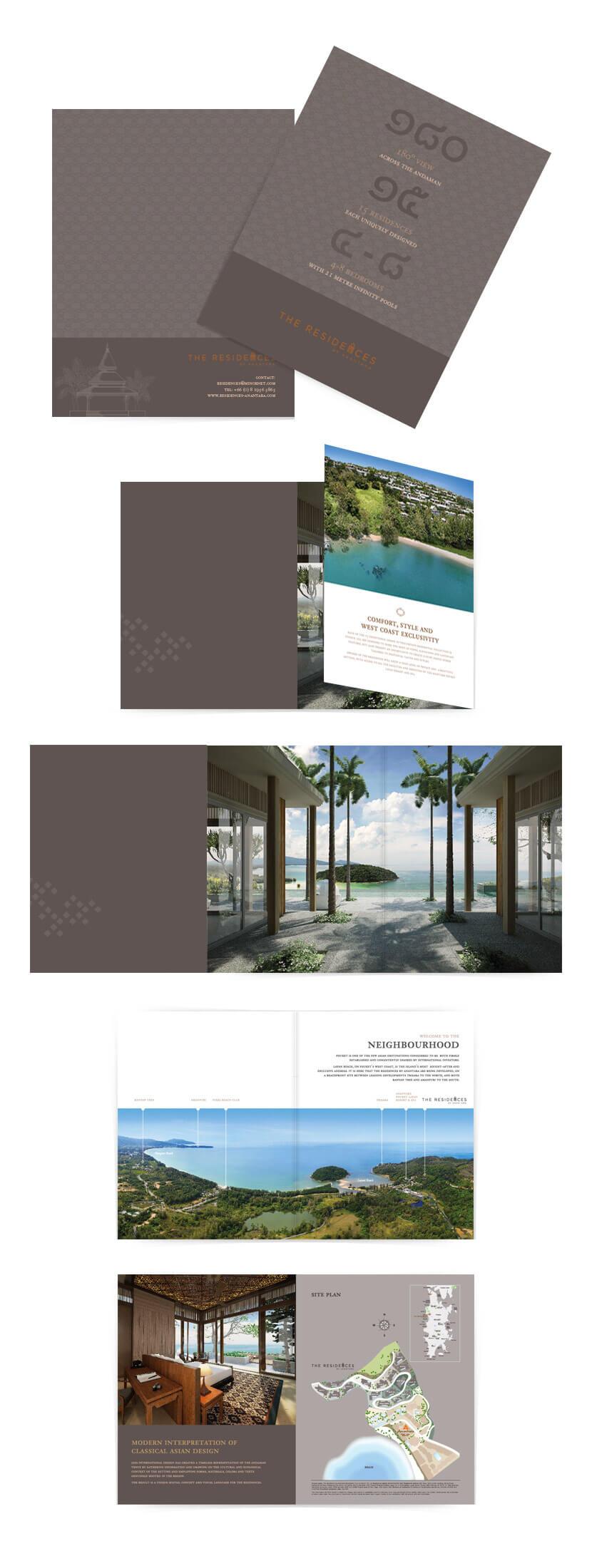 Print Design - The Residence
