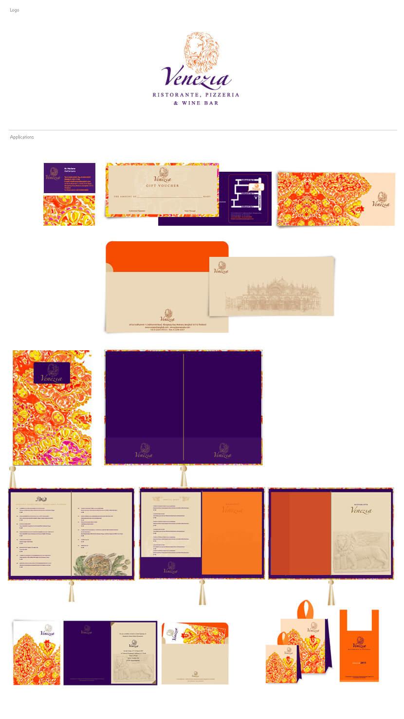 Print Design - Venezia Ristorante