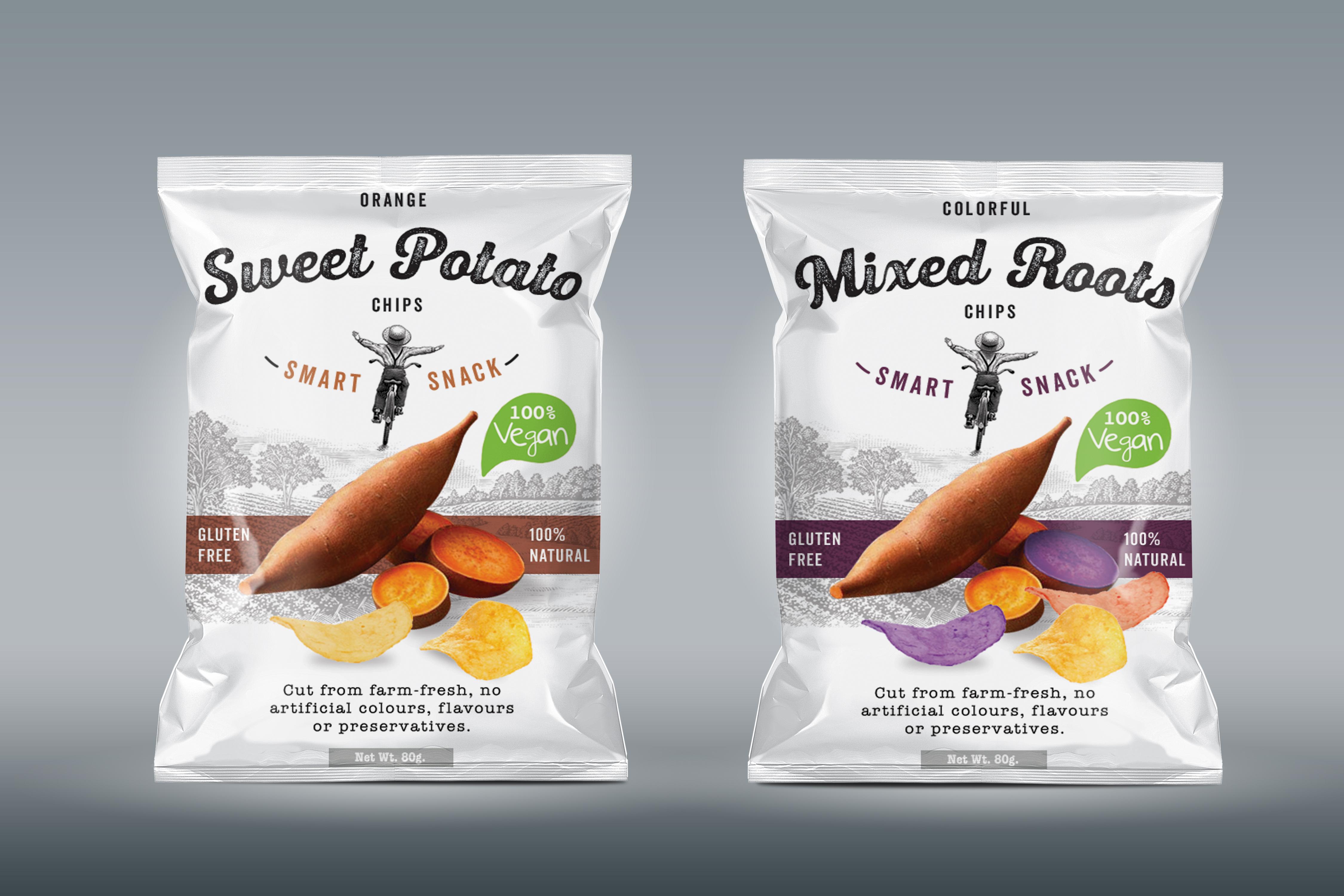 Packaging Design - Consumer Goods - Potato Chips